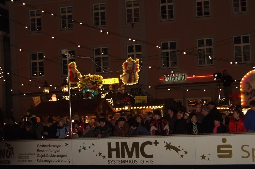 Weihnachtsmarkt Lippstadt Eisbahn