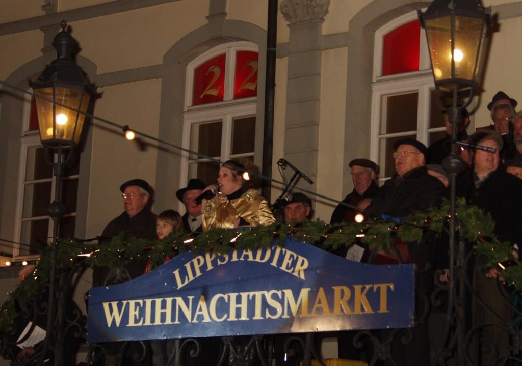 Weihnachtsmarkt Lippstadt - Eröffnung